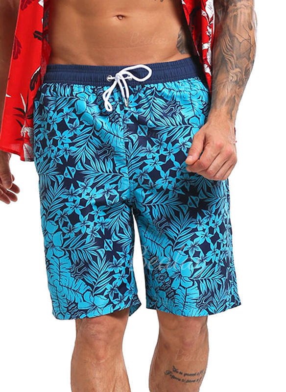 Heren bekleed Koord Board Shorts