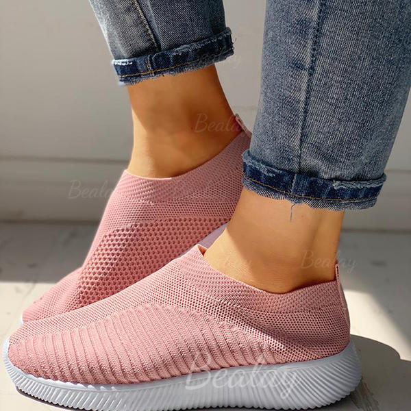 Women's Cloth Mesh Casual Outdoor With Elastic Band shoes