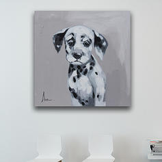 Modern Style Rectangulaire Peintures Animaux