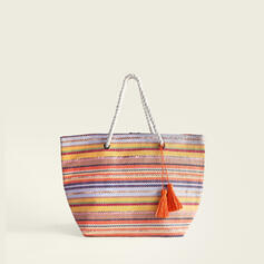 Elegant/Classical/Stripe/Bohemian Style/Braided/Super Convenient Tote Bags/Beach Bags