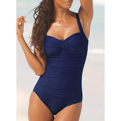 Underwire Push Up Strap Elegant One-piece Swimsuits