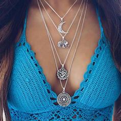 Unique Exquisite Stylish Alloy Jewelry Sets Necklaces Beach Jewelry