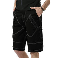 Men's Solid Color Board Shorts Swimsuit