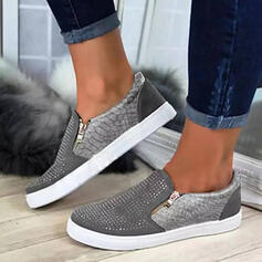 Women's PU Casual Outdoor With Zipper Hollow-out shoes