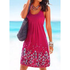Print Strap Fresh Plus Size Cover-ups Swimsuits