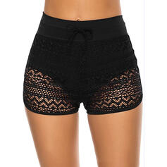 Bottom Mesh Strapless Casual Bottoms Swimsuits