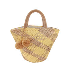 Dumpling Shaped/Bohemian Style/Braided/Super Convenient Tote Bags/Beach Bags/Hobo Bags/Storage Bag