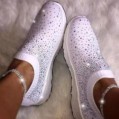 Women's Cloth Casual Outdoor With Rhinestone shoes