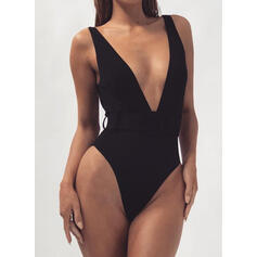 Animal Print Strap Sexy One-piece Swimsuits