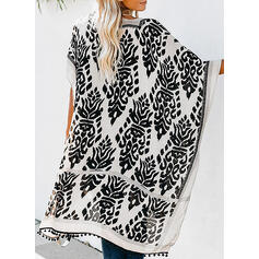 Print Casual Boho Cover-ups Swimsuits