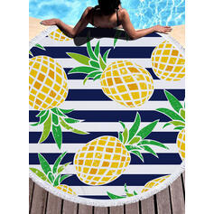 Striped/Tassel/Bohemia/Food Light Weight/Boho/Multi-functional/Sand Free/Quick Dry Beach Towel