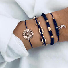Alloy Bracelets Beach Jewelry (Set of 4)