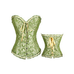 Polyester Corset Bustier