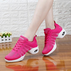 Women's Modern Jazz Sneakers Cloth Jazz