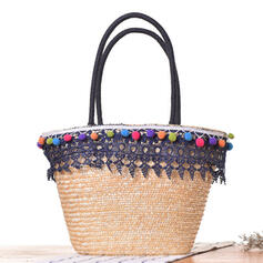 Colorful/Bohemian Style/Braided/Simple Tote Bags/Shoulder Bags/Beach Bags/Hobo Bags