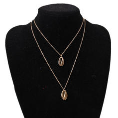 Simple Alloy Women's Necklaces (Sold in a single piece)