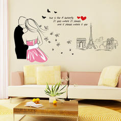 Modern Any Shape Pop Art Wall Stickers