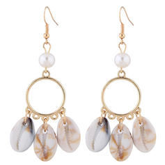 Stylish Simple Shell Alloy Women's Earrings
