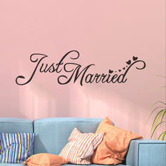 Modern Vertical Words&Quotes Wall Stickers