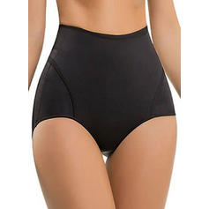Polyester Chinlon Solid color Shapewear