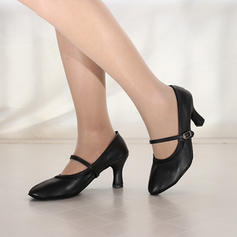 Femmes Modern Style Jazz Talons Suède Similicuir Modern Style