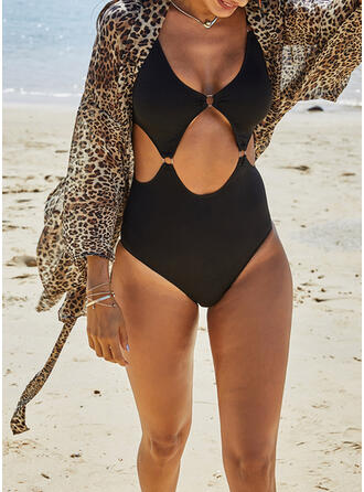 Leopard Strapless Fashionable Cover-ups Swimsuits