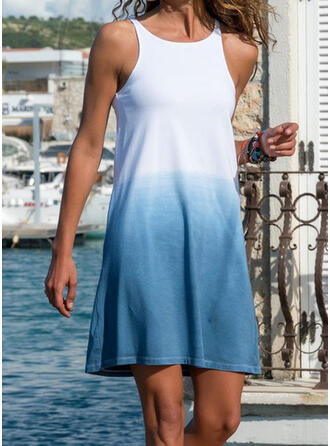 Splice color Strap High Neck Beautiful Casual Cover-ups Swimsuits
