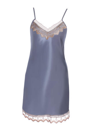 Polyester Lace Embroidery Slip