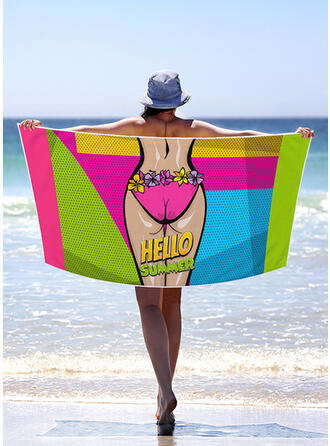 Bohemia/letter/Colorful Light Weight/Multi-functional/Sand Free/Quick Dry Beach Towel
