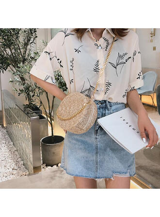Unique/Classical/Personalized Style/Bohemian Style/Braided Clutches/Crossbody Bags/Shoulder Bags/Beach Bags/Bucket Bags