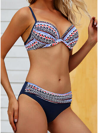 Low Waist Micro Strap Sexy Bohemian Plus Size Bikinis Swimsuits