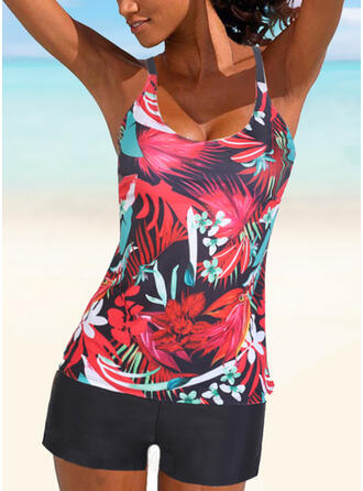 Print Strap Casual Amazing Exquisite Novelty Luxury Tankinis Swimsuits